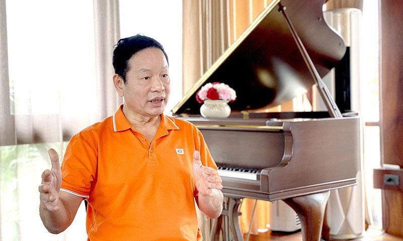 Chủ tịch Trương Gia Bình